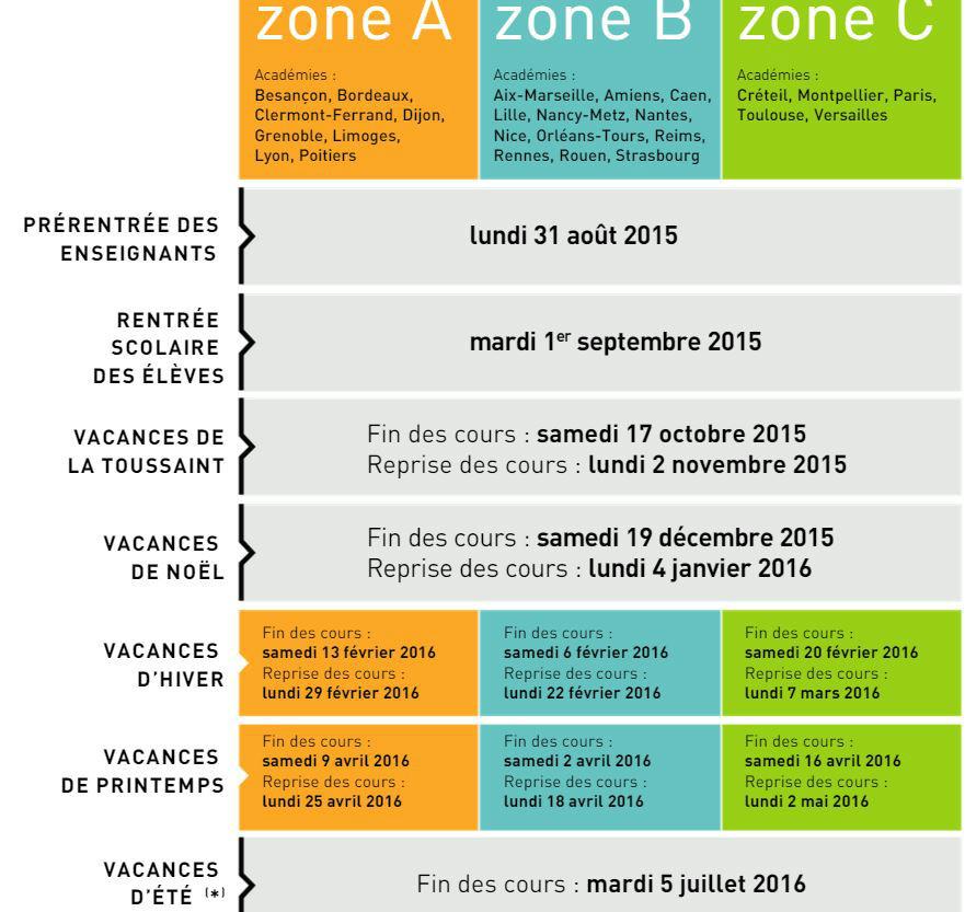 Charming Vacances De Paques Zone B #5: Fevrier Vacances 2016