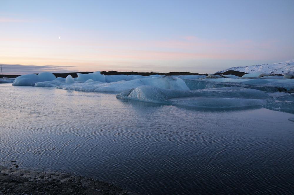 La lagune glacée de Jokulsarlon
